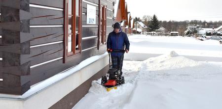 MaX na sněhu